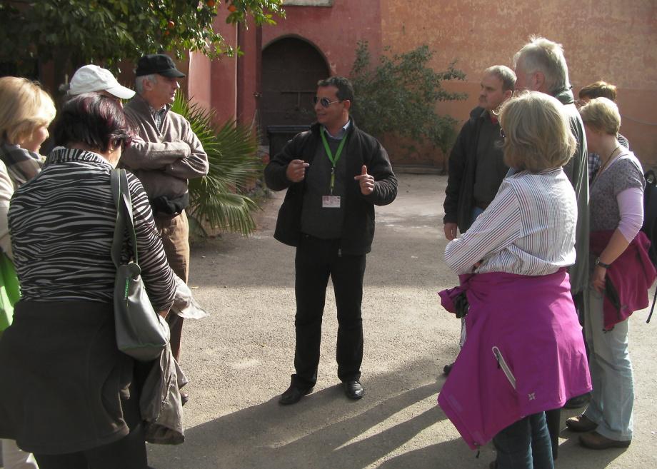 Marrakech Marrakesch Marokko Morocco Reiseleiter Fremdenführer Guide